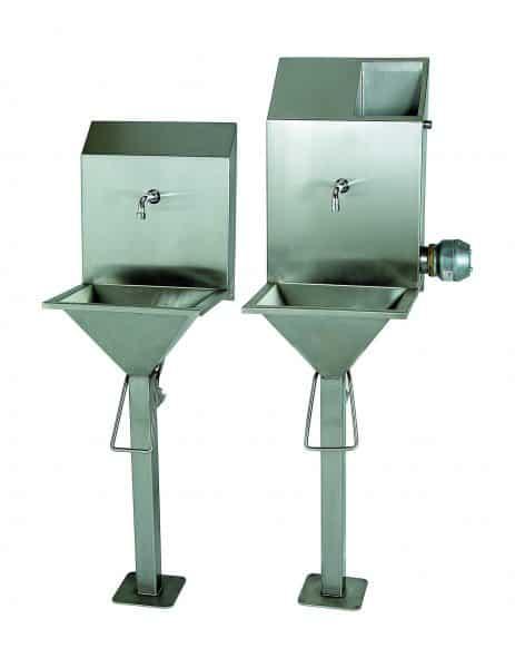 Abattoir Sink with Steriliser
