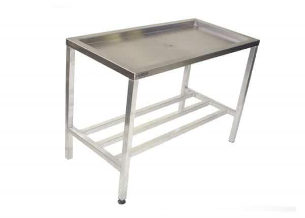 Aluminium Draining Table