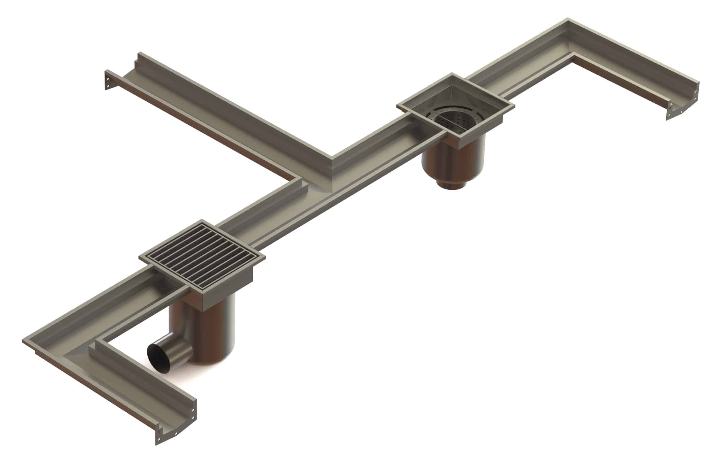 Stainless Steel Drain Channels