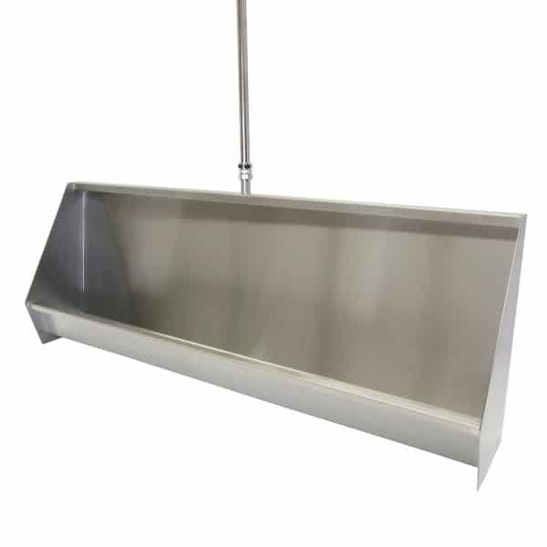 Economy Wall Hung Trough Urinal with sloping sides