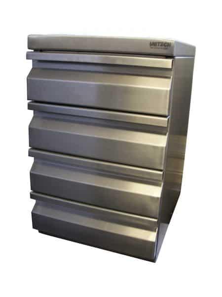 Stainless Steel Filing Cupboard