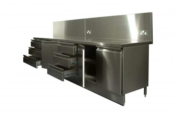 Stainless Steel Floor Cupboards