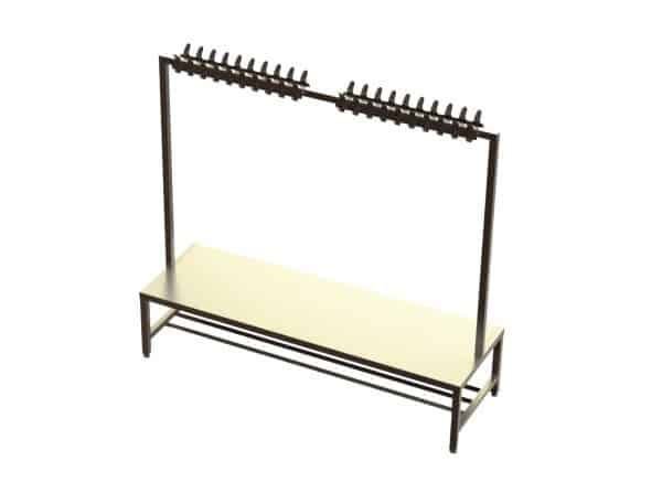 Bench with Coat Hook