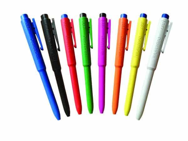 Metal Detectable Plastic Pens
