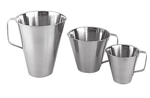 Stainless Steel Measuring Jugs