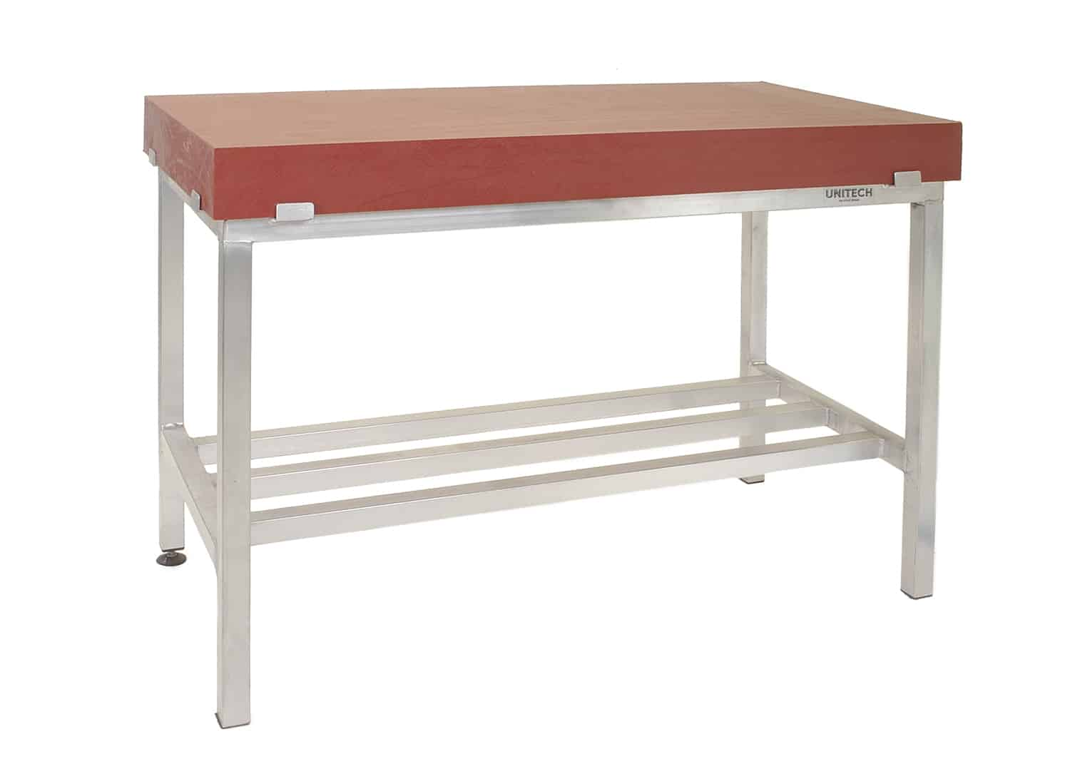 Poly Top Table with Aluminium Frame