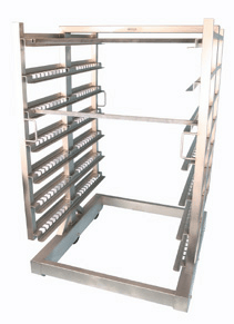 stainless steel smoking rack