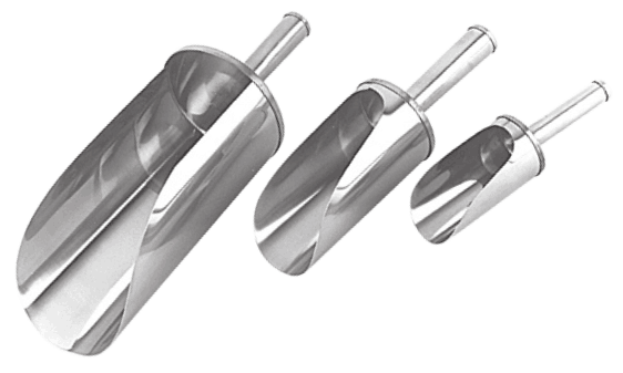 Stainless Steel Flour Scoops