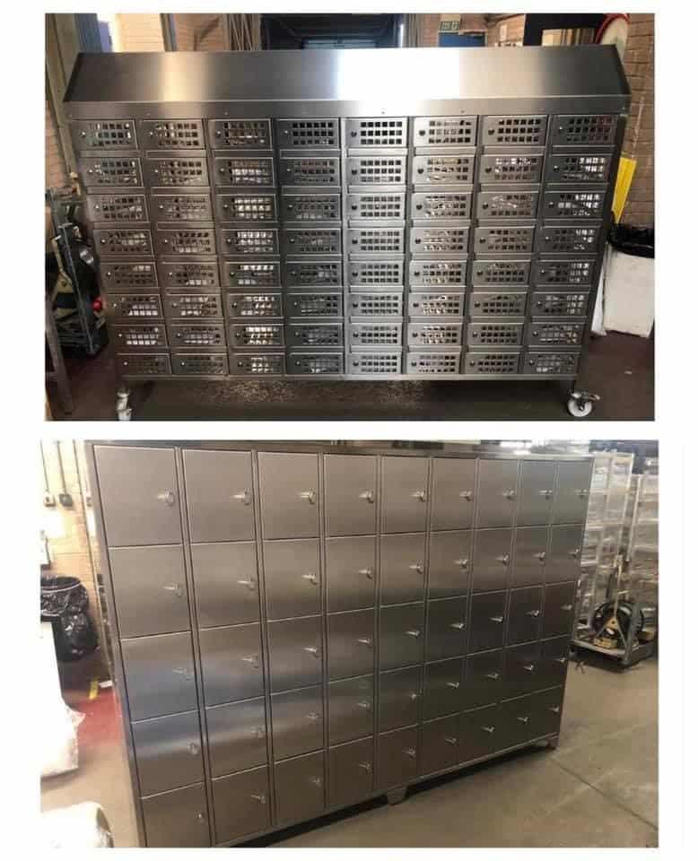 stainless steel storage