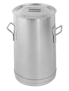 Stainless Steel Storage and Mixing Container