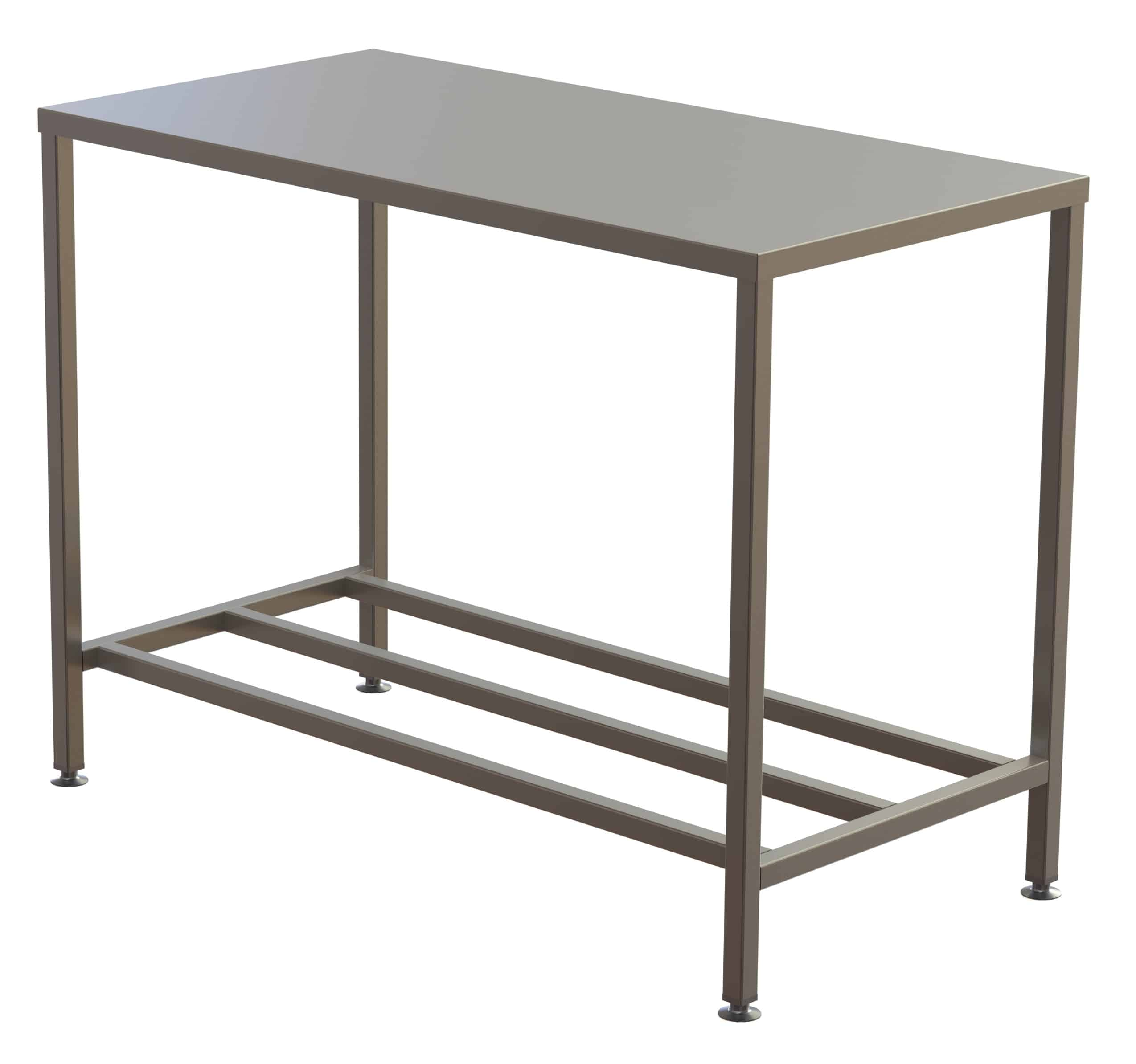 Stainless Steel Topped Table