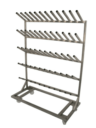 Aluminium Welly Rack