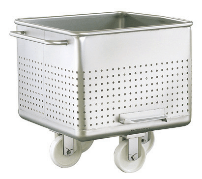 Perforated Tote Bin Buggy