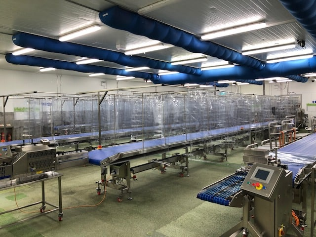 Protective Screens for Production Lines